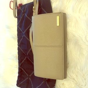 Tignanello Taupe Crossbody Bag